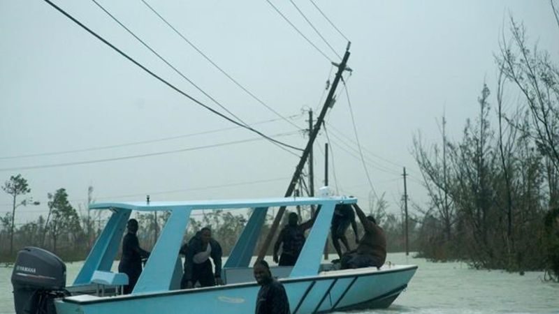 Bahamian Man Watches Wife Drown in Hurricane Dorian Flooding: 'It Was Horrible'