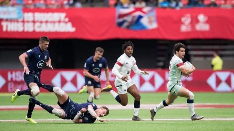 Richmond's Hirayama leads host nation to bronze at HSBC Canada Sevens