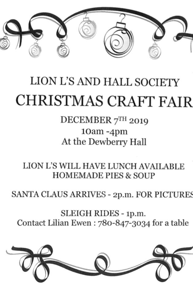Dewberry Christmas Craft Fair @ Dewberry Hall