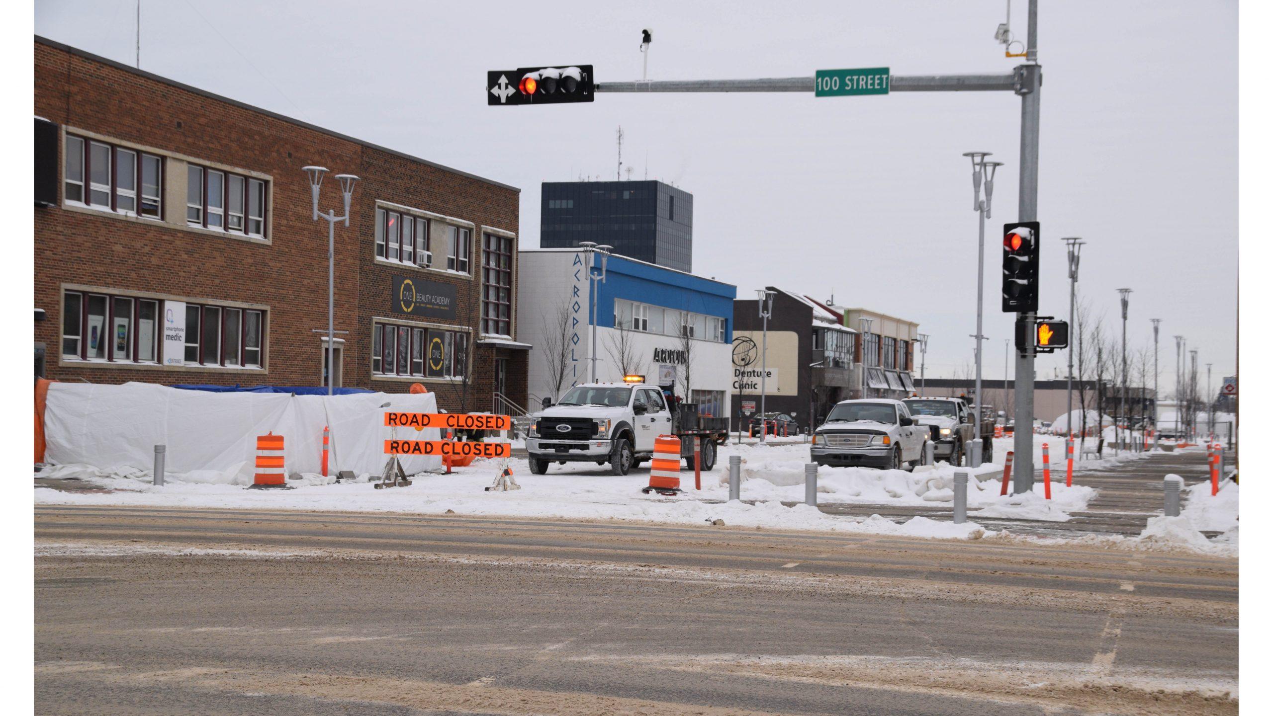 101 Avenue set to re-open   EverythingGP   Grande Prairie