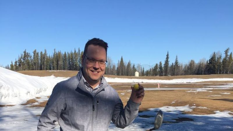 Warm Weather The Dunes driving range opens early with warm weather   EverythingGP    Grande Prairie, Peace Region   News, Sports, Weather, Obituaries, Real  Estate