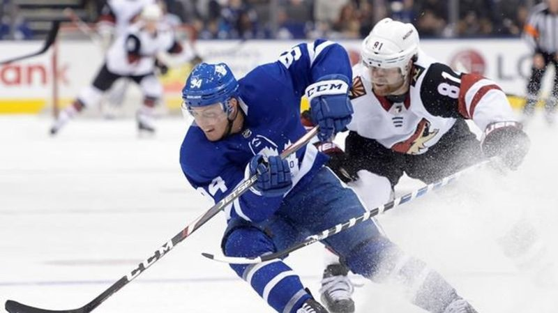 Kapanen scores in OT, Maple Leafs beat Coyotes 3-2