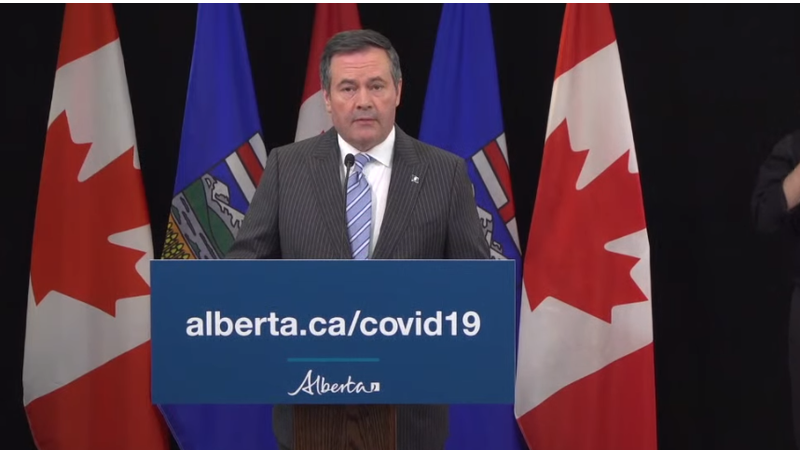 COVID-19: Kenney calls on Albertans to make wartime effort against virus