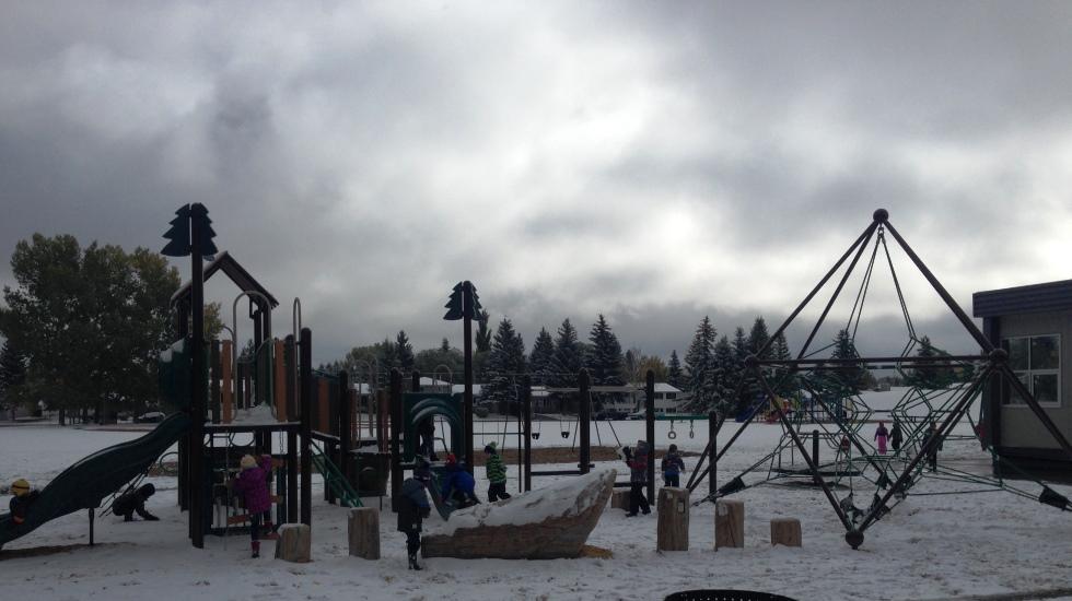 St  Elizabeth Seton School celebrates new playground