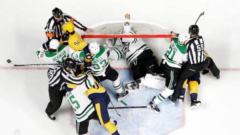 Predators beat Stars 2-1 in OT, even series 1-1 | rdnewsNOW