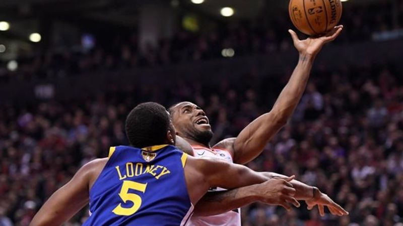 93e2f3c6847 Pascal Siakam has 32 points in Raptors' historic NBA Finals win over  Warriors