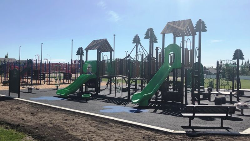 Fully-accessible playground now open at Barrie Wilson