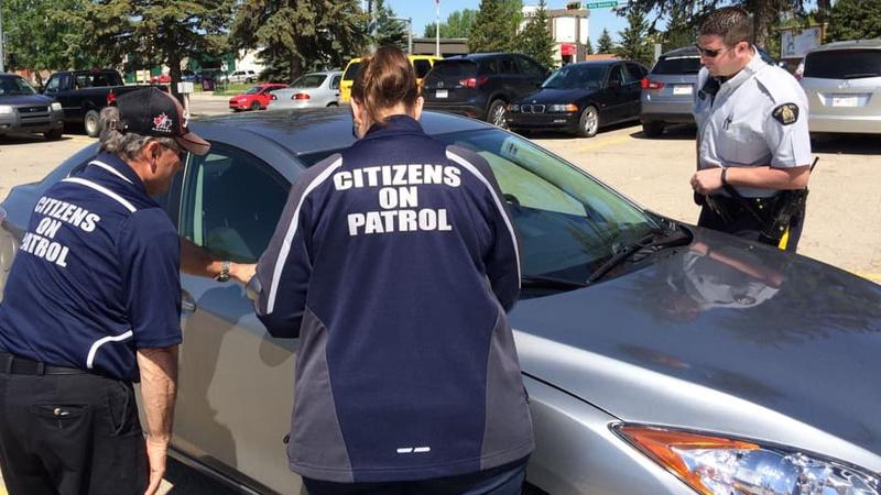 Citizens on Patrol happy to be eyes and ears of community