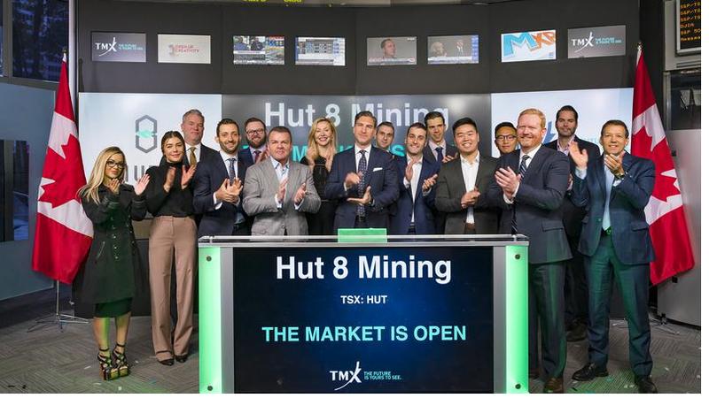 Hut 8 Mining opens Toronto Stock Exchange | rdnewsnow.com