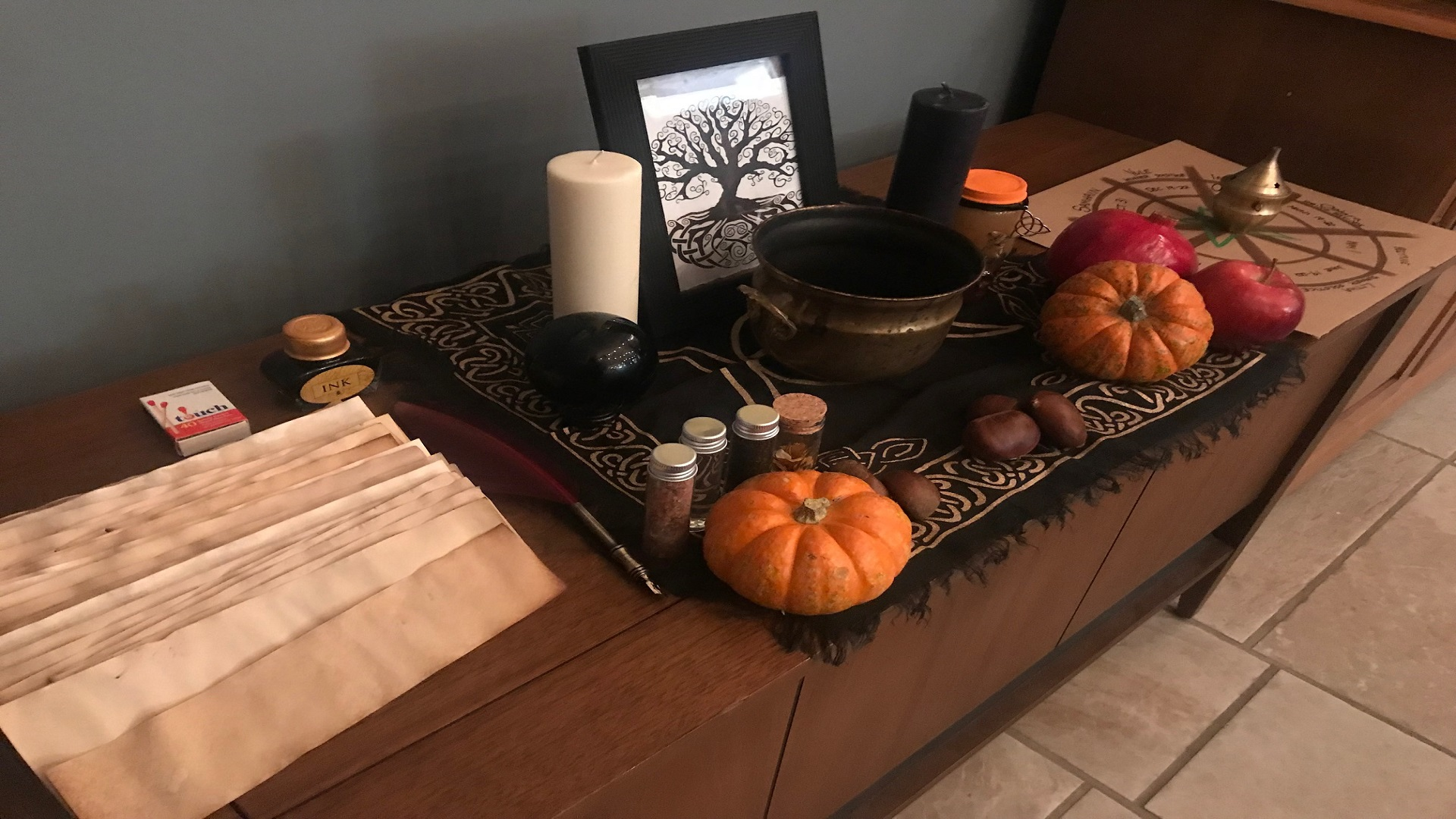 Lethbridge Pagans and Witches celebrate the Festival of Samhain and