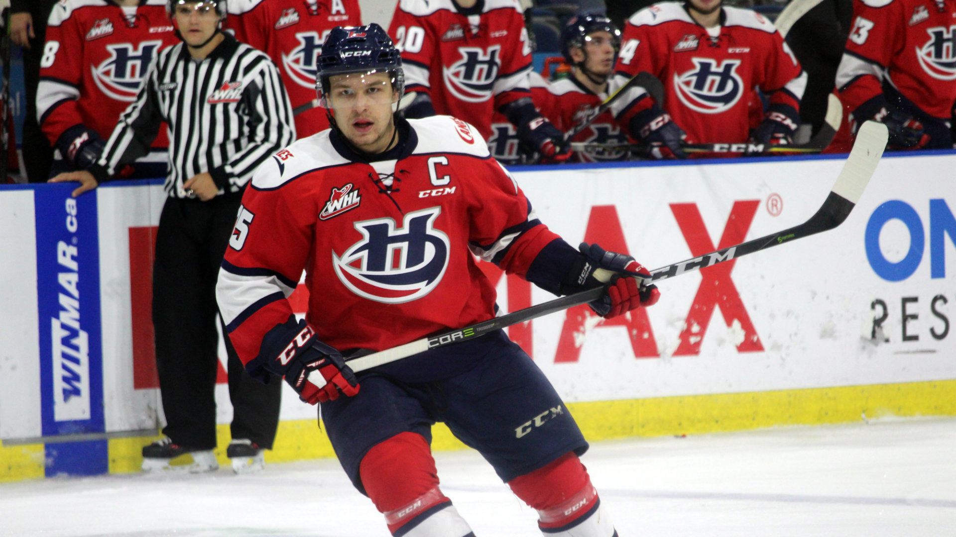 Three Hurricanes named to Team WHL for 2018 CIBC Canada