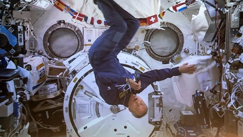 Astronaut David Saint-Jacques returns to Earth