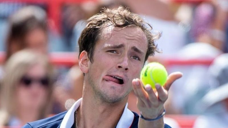 Medvedev stuns second seed Thiem in Montreal