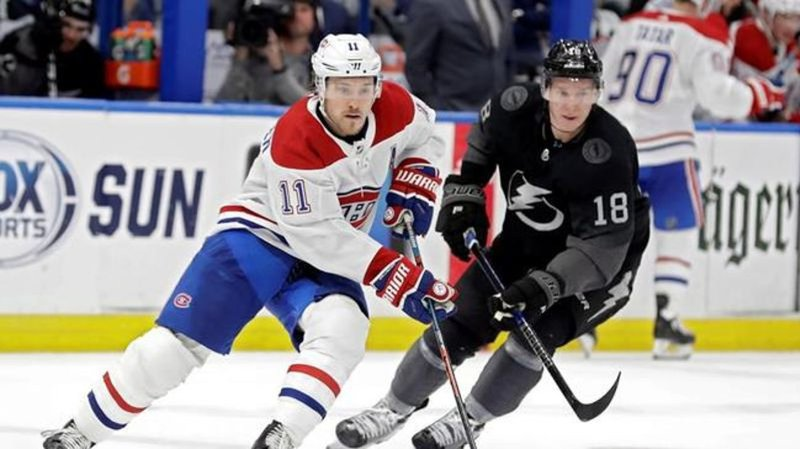 Lightning overcome sluggish start, beat Canadiens 5-4