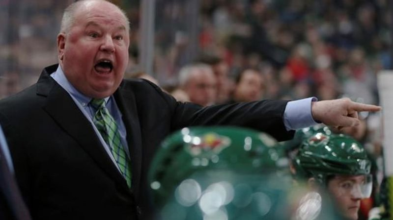 Wild fire head coach Boudreau