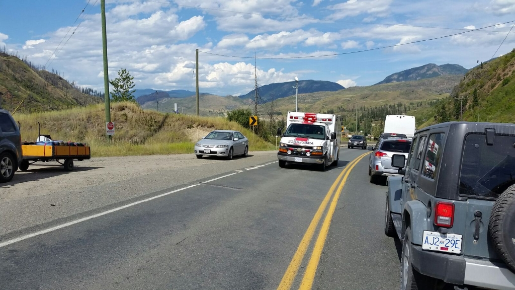 Serious accident closes Yellowhead Highway south of Barriere | CFJC