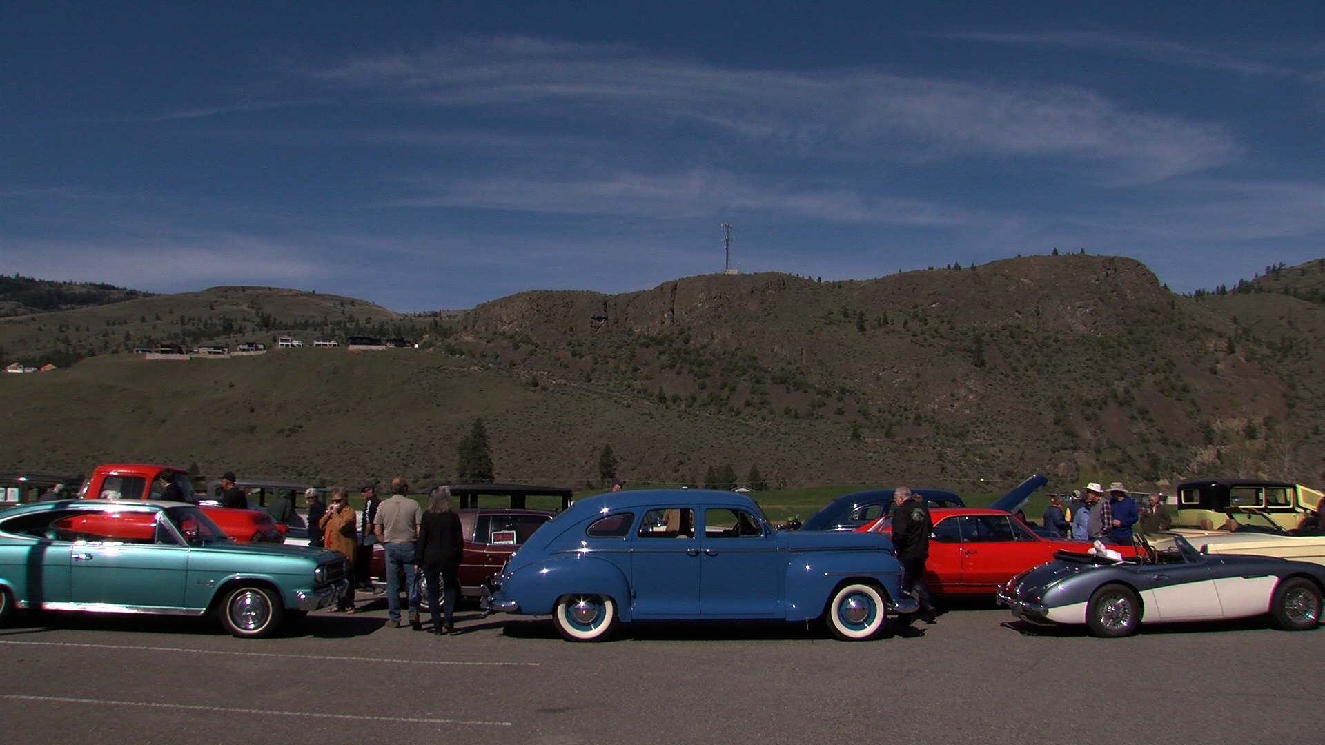 Sunny Skies Warm Up 49th Annual Kamloops Easter Classic Car Parade
