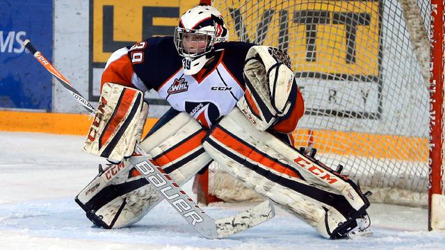 Ingram goalie of the week in the Canadian Hockey League
