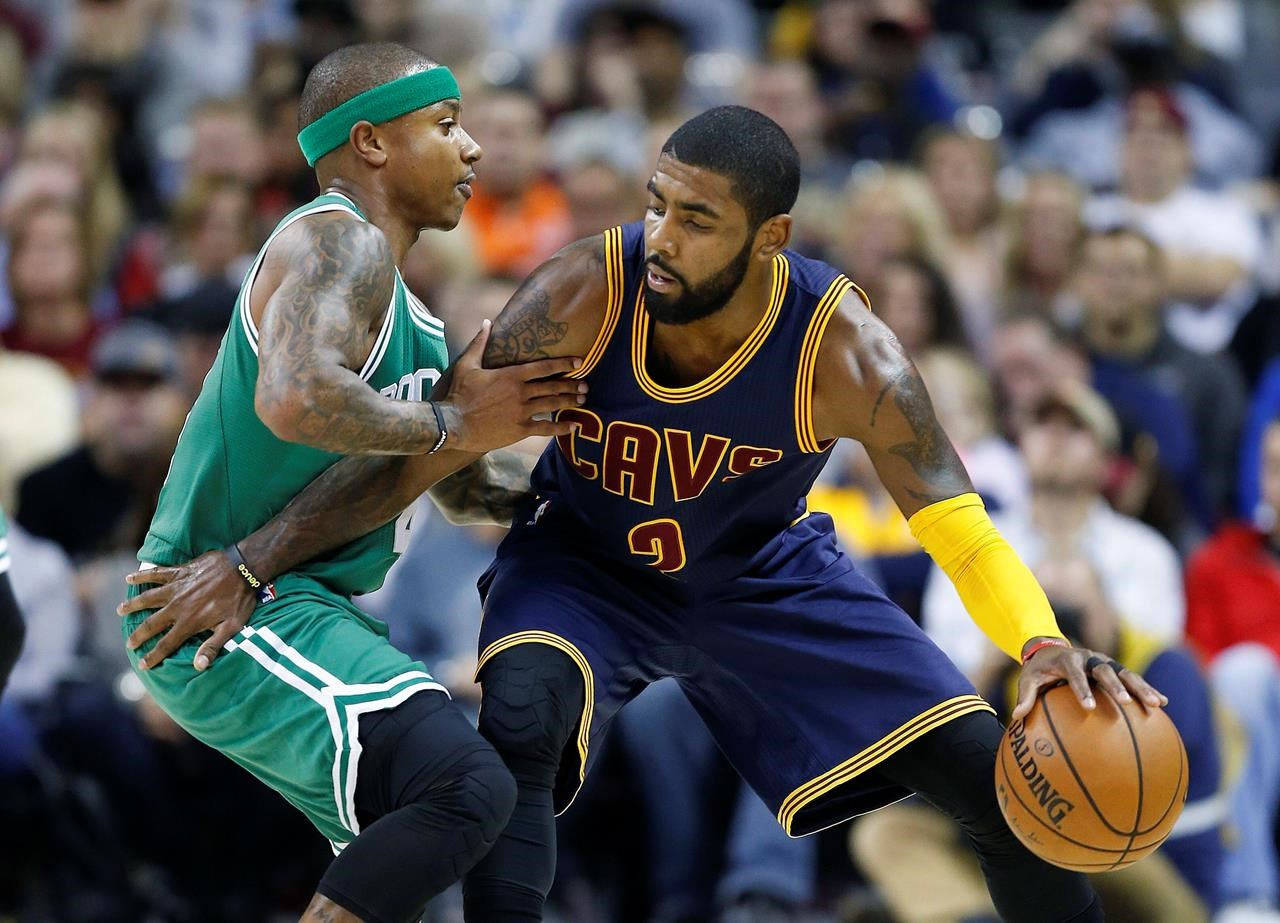 5e4bd7d98fa9 Boston bound  Cavs trade Irving to Celtics for Thomas