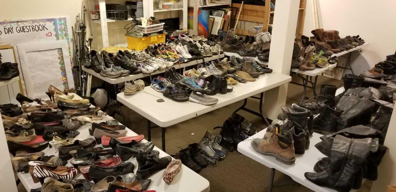 ebeeefd3bd789 Poor soles' recovered from abandoned Kamloops shoe repair shop ...