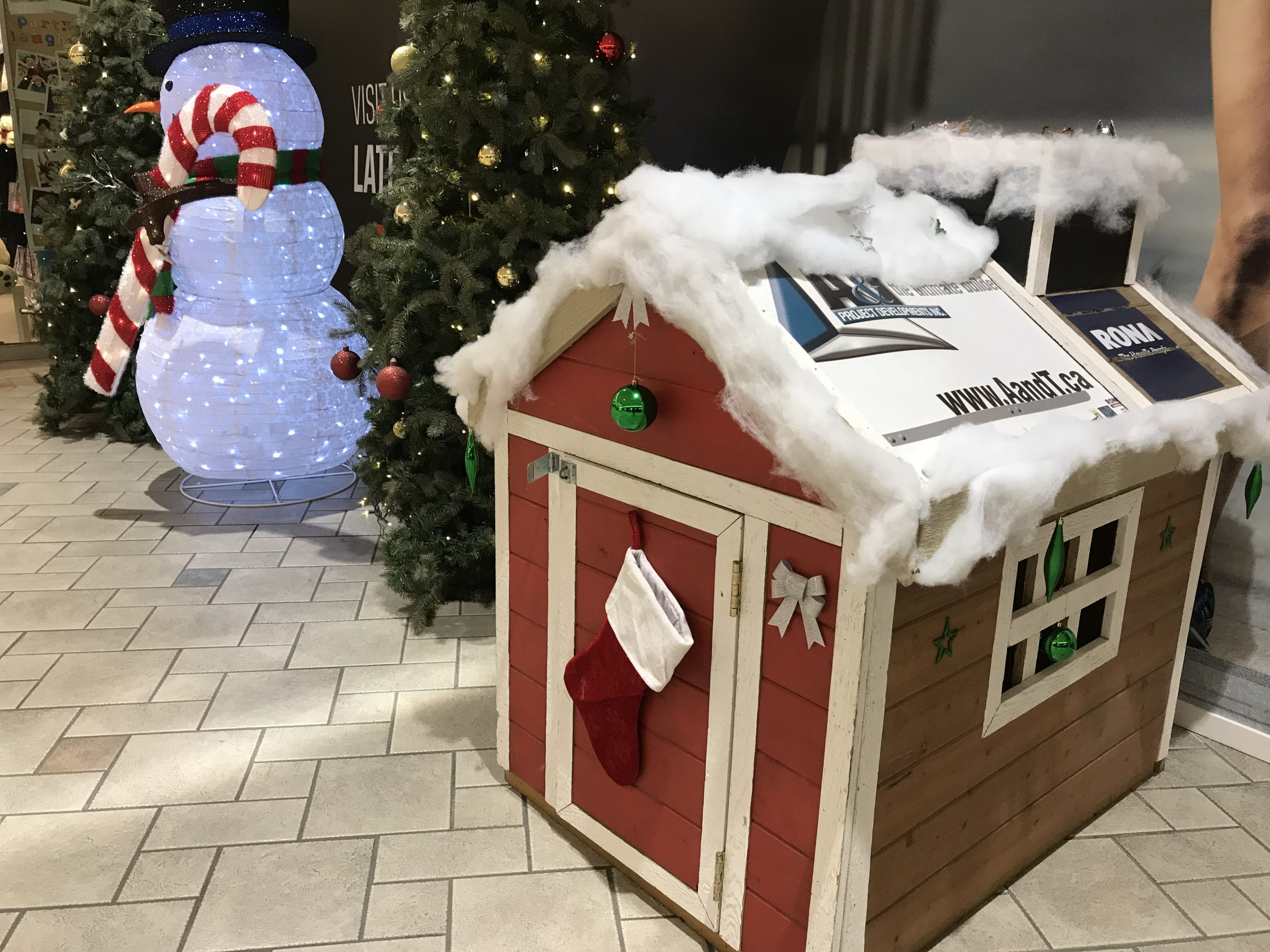 Toy House campaign to collect gifts for Christmas