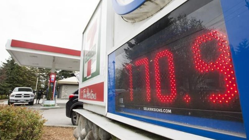 B.C. premier asks utilities commission to probe high price of gasoline