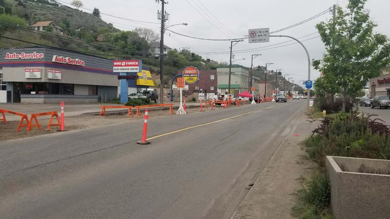 Traffic Pattern Changed On West Victoria Street Cfjc Today Kamloops British Columbia News