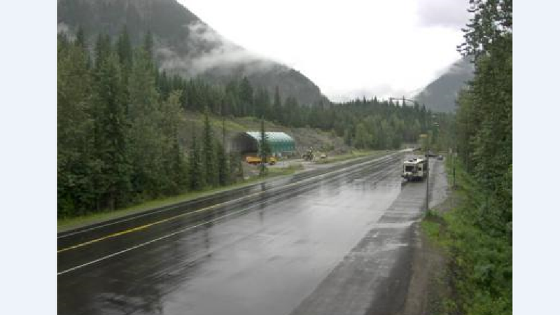 Dump truck driver dies in crash east of Revelstoke | CFJC