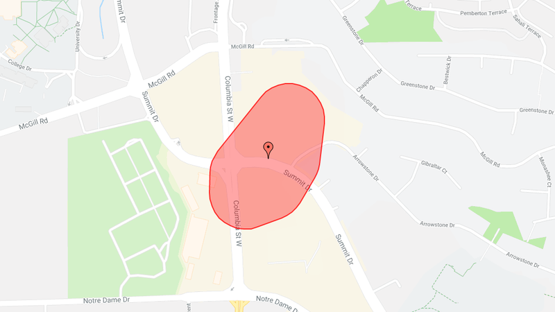 Bc hydro power outage estimated time