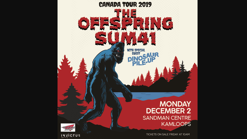 The Offspring and Sum 41 to rock Meridian Centre