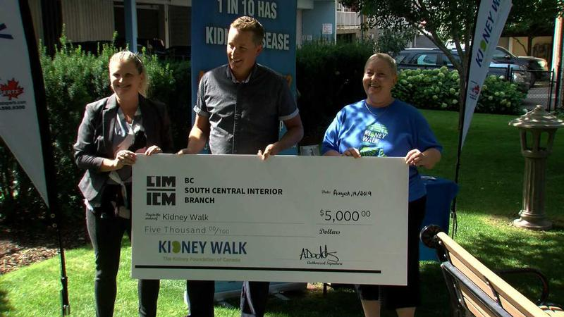 Kamloops Kidney Foundation overwhelmed by generous donation