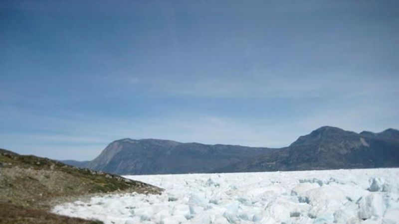 Climate change melting Greenland ice sheet at record pace