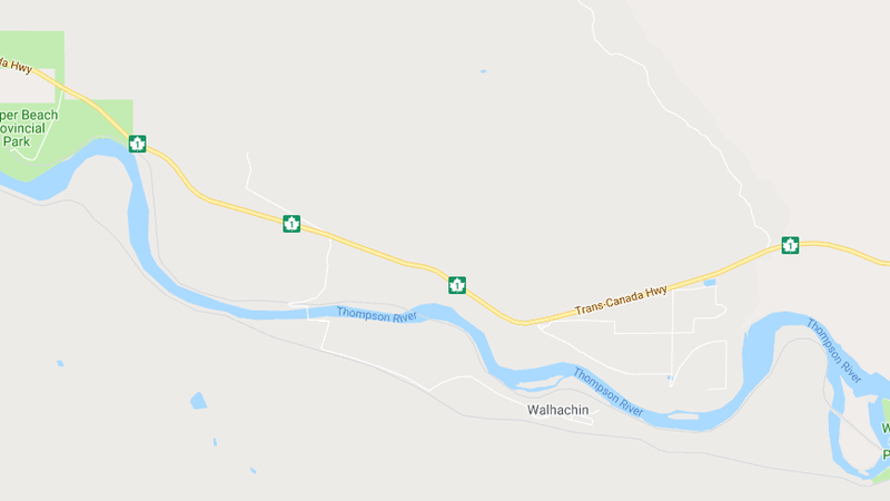 Map Of Canada Showing Kamloops.Fatal Crash Closes Trans Canada West Of Savona Cfjc Today