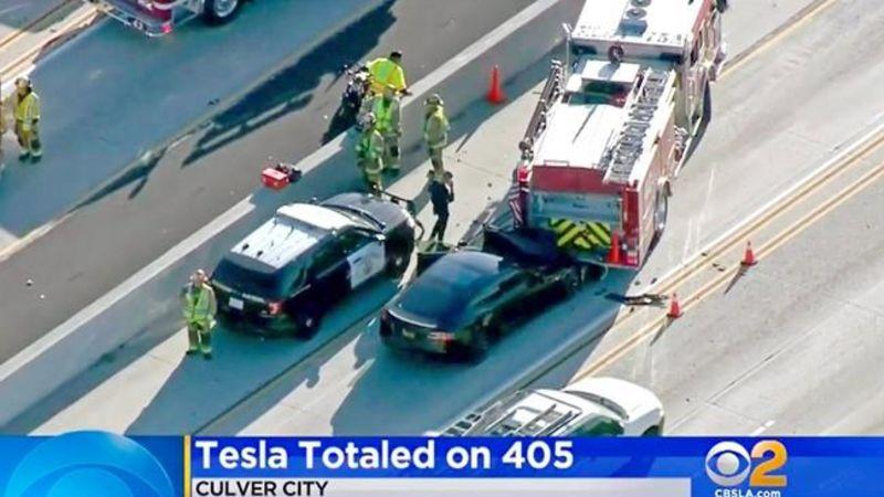 NTSB: Tesla on Autopilot when it hit California firetruck