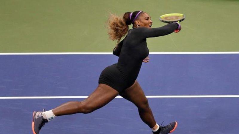 Serena Williams wins 100th US Open match
