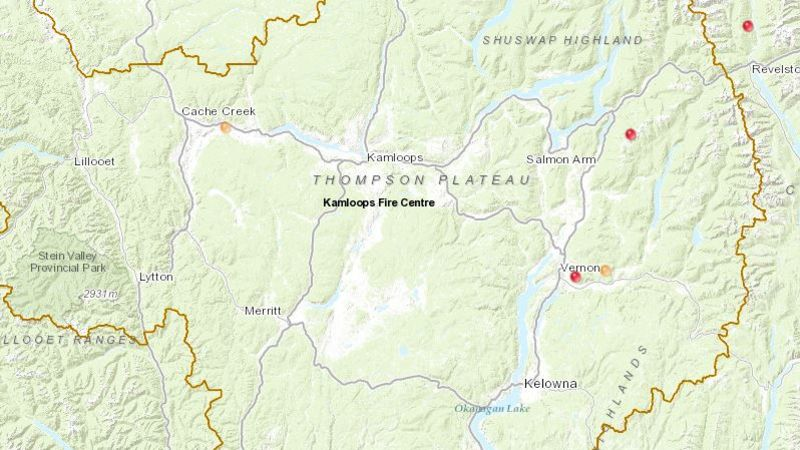 BC Wildfire Service crews responding to multiple new fire ...
