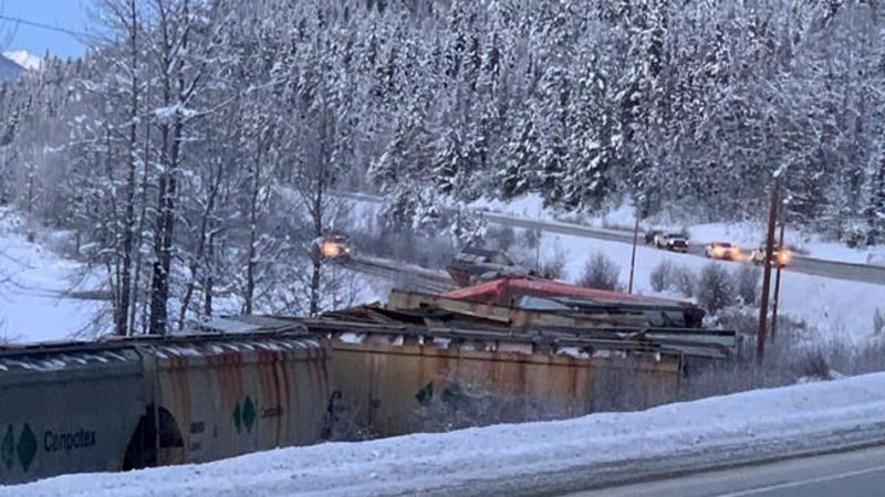 Little Potash Spilled After Derailment In B C Lake Government Spokesman Cfjc Today