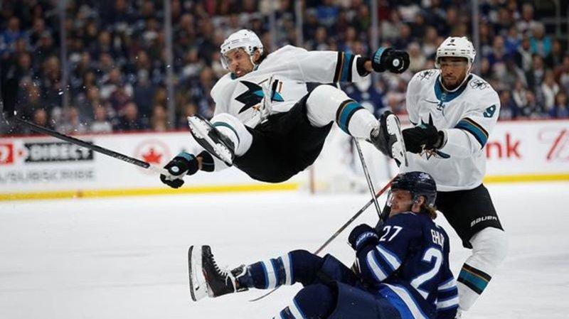 Melker Karlsson Timo Meier Lift San Jose Sharks Over Winnipeg Jets 3 2 Cfjc Today Kamloops