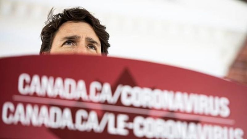 Canadian Prime Minister Justin Trudeau's wife Sophie has recovered from coronavirus