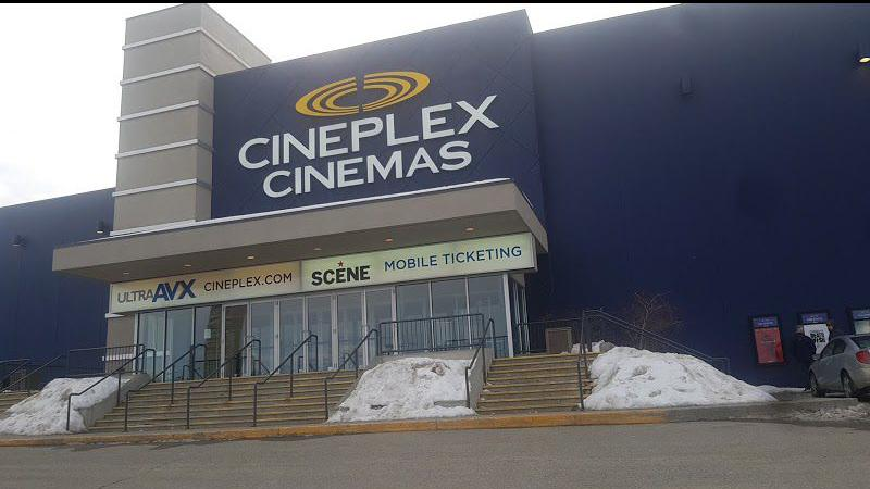 Cineplex announces temporary closures of movie theatres