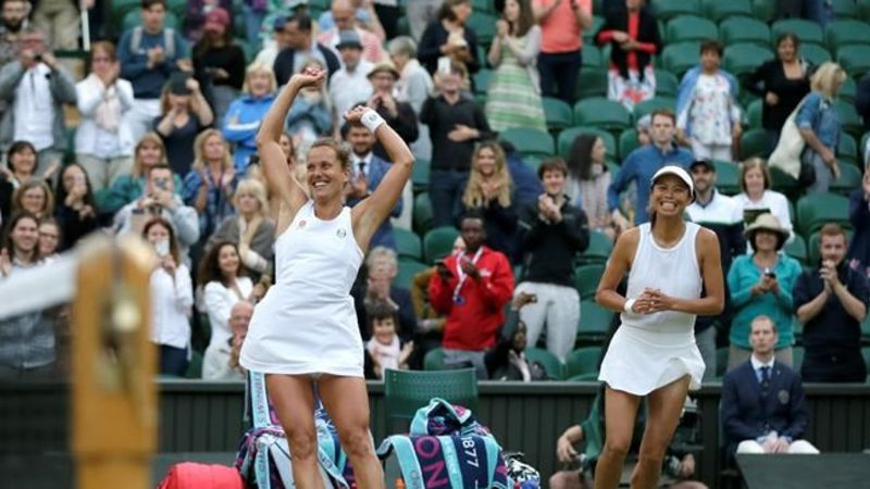 Ottawa's Gabriela Dabrowski falls in Wimbledon women's