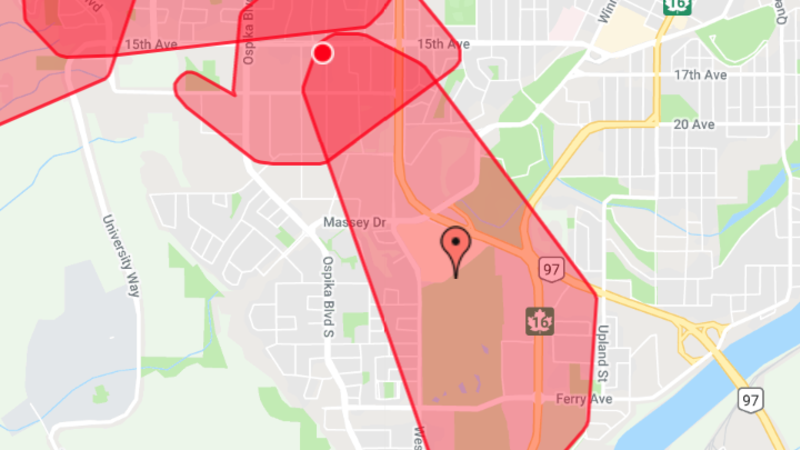 Over 5,000 BC Hydro customers without power | CKPG Today | Prince