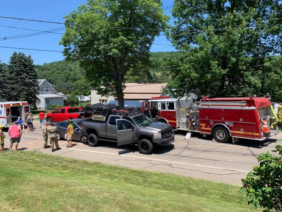 No Injuries In Derrick City Crash
