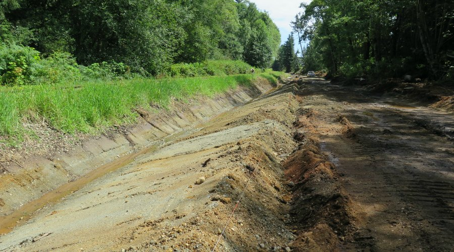 Construction of Parksville Rail Trail ahead of schedule | Nanaimo