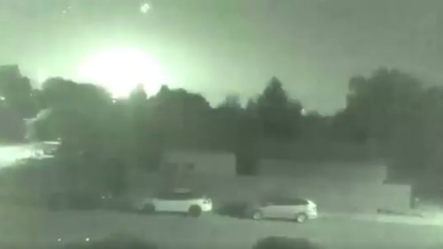 VIDEO: Mysterious bright flash lights up night sky over parts of