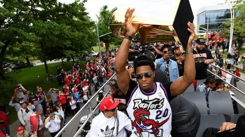 By Canadian Press	 	 		The latest from the Raptors parade in Toronto				Jun 17 2019