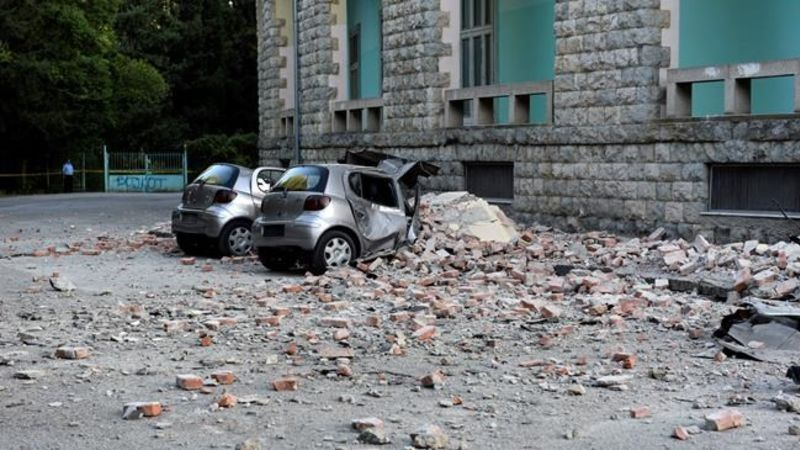 Earthquake in Albania followed by 240 aftershocks; 105 injured