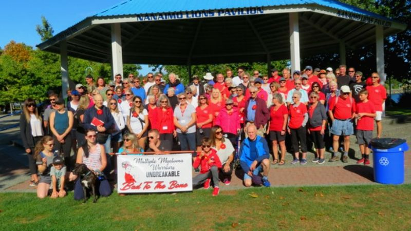 Multiple myeloma awareness walk exceeds fundraising and