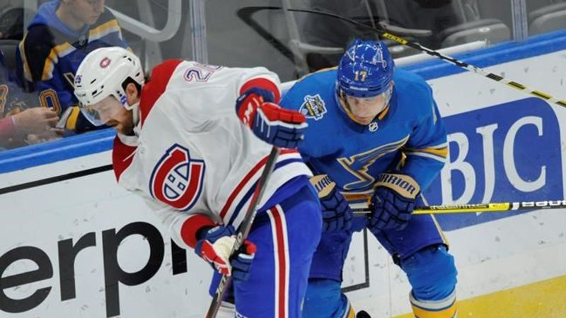 Canadiens at Blues: Five things you should know
