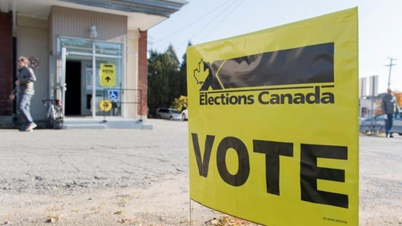 Canada elects Parliament in vote seen as threat to Trudeau